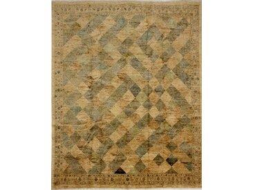 Ziegler Gabbeh Teppich Orientalischer Teppich 307x248 cm Handgeknüpft Modern