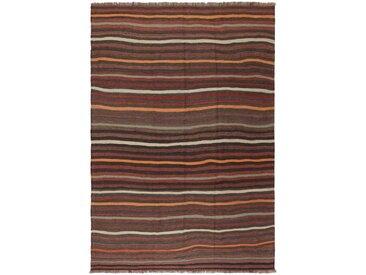 Kelim Fars Teppich Perserteppich 279x193 cm Handgewebt Klassisch