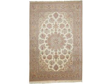 Ghom Seide Signiert Teppich Perserteppich 295x200 cm Handgeknüpft Klassisch