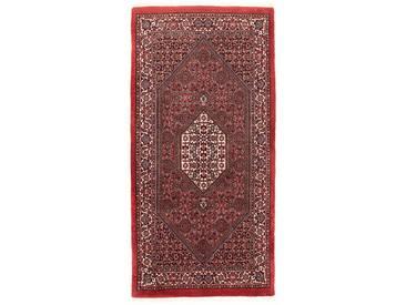 Bidjar Tekab Teppich Orientalischer Teppich 149x74 cm, Läufer Handgeknüpft Klassisch