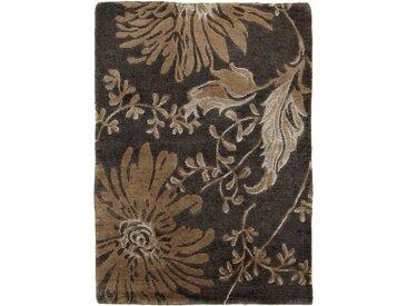 Nepal Teppich Orientteppich 91x59 cm, Indien Handgeknüpft Modern