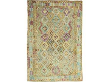 Kelim Afghan Heritage Teppich Orientalischer Teppich 292x200 cm Handgewebt Design Modern