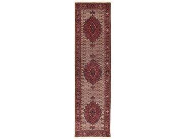 Bidjar Tekab Teppich Orientalischer Teppich 308x83 cm, Läufer Handgeknüpft Klassisch
