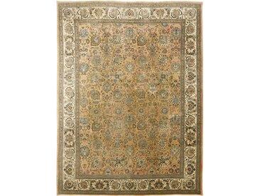 Täbriz  Teppich Perserteppich 415x309 cm Handgeknüpft Klassisch