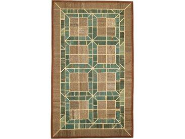 Kelim Patchwork Teppich Orientalischer Teppich 296x177 cm Handgewebt Klassisch