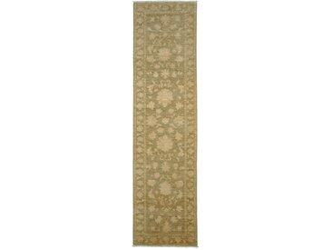 Ziegler Farahan Arijana Teppich Orientalischer Teppich 299x77 cm, Läufer, Pakistan Handgeknüpft Klassisch
