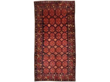 Kordi Teppich Orientalischer Teppich 305x152 cm, Läufer Handgeknüpft Klassisch