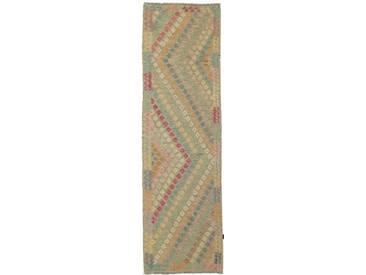 Kelim Afghan Teppich Orientalischer Teppich 287x85 cm, Läufer Handgewebt Klassisch