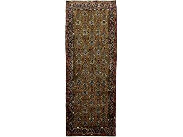 Hamadan Teppich Orientteppich 291x108 cm, Läufer Handgeknüpft Klassisch