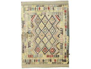 Kelim Afghan Heritage Teppich Orientteppich 279x210 cm Handgewebt Design Modern