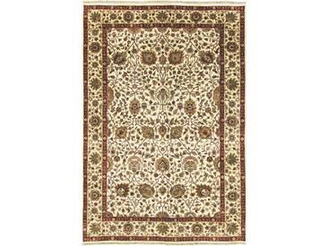 Indo Täbriz Teppich Orientalischer Teppich 266x182 cm, Indien Handgeknüpft Klassisch