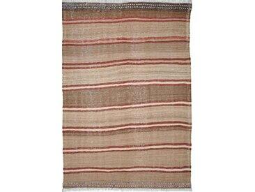 Kelim Fars Mazandaran Antik Teppich Persischer Teppich 265x181 cm Handgewebt Klassisch