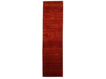 Gabbeh Loribaft Teppich Orientalischer Teppich 266x70 cm, Läufer, Indien Handgeknüpft Modern