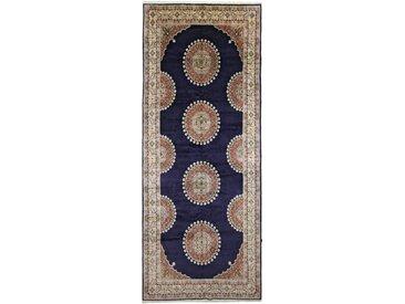 Moud Teppich Persischer Teppich 499x201 cm, Läufer Handgeknüpft Klassisch