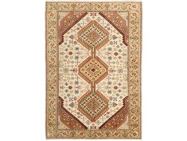 Kelim Fars Sirjan Teppich Orientteppich 195x138 cm Handgewebt Klassisch