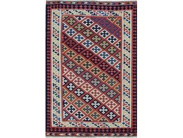 Kelim Fars Teppich Persischer Teppich 224x152 cm Handgewebt Klassisch