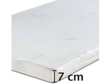 Best-Schlaf Visko-Wendeauflage, 7 cm dick, 1 Stück, 90 cm