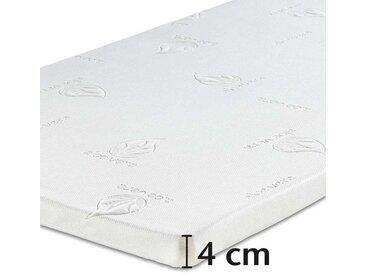 Best-Schlaf Visko-Mineralschaum Matratzenauflage, 4 cm dick, 2er-Set, 140x200 cm