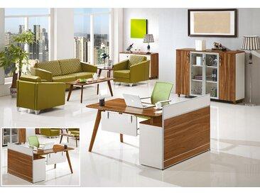 Moderner Schreibtisch mit Anrichte EVOLUTIO A909