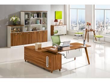 Moderner Schreibtisch mit Anrichte EVOLUTIO A609