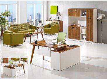 Moderner Schreibtisch mit Anrichte EVOLUTIO A909B
