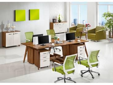 Moderne Bürogarnitur für 4 Personen EVOLUTIO B105