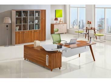 Moderner Schreibtisch mit Anrichte EVOLUTIO A309