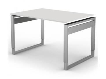 FORM 5 Schreibtisch mit Kufengestell, 120x80xh68-82cm