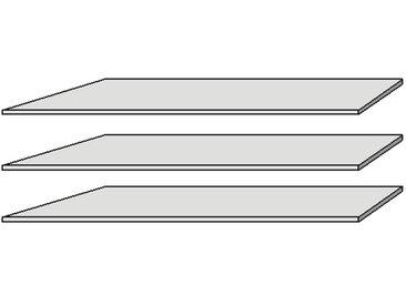 Einlegeböden 3er Set für ERLIN Drehtürenschrank, Material...