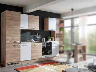 VINO Küchenblock Sonoma Dekor / weiß
