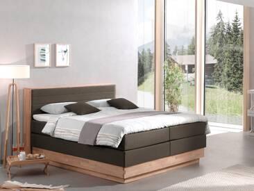 MENOTA Boxspringbett mit Stoffbezug und Bettkasten, 180 x 200 cm