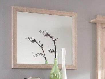 BRANDY Wandspiegel, Material Dekorspanplatte, Eiche sonomafarbig
