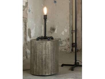 TAFEL Tischlampe industrial tube schwarz
