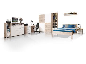 BEAT Jugendzimmer, Material Dekorspanplatte, sandeichefarbig /...