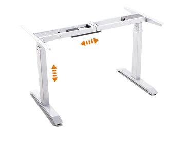 OFFICE ONE elektrisch höhenverstellbares Tischgestell TÜV...