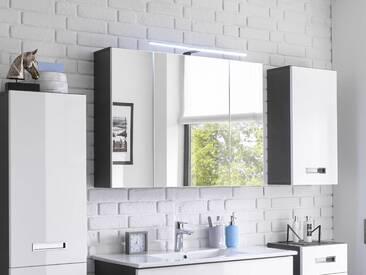 MAY Spiegelschrank mit LED-Aufsatzleuchte