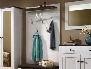 ANTWERPEN Garderobenpaneel Lärche / Pinie Dekor
