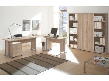 OFFICE LINE Heimbüro 7tlg Eiche Sonoma Dekor