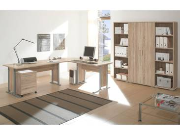 OFFICE LINE Heimbüro 7tlg, Material Dekorspanplatte, Eiche...