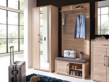 GRANDE Garderobenpaneel Sonoma Eiche hell Nachbildung MDF