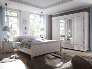 OXFORD Komplett-Schlafzimmer Kiefer weiß