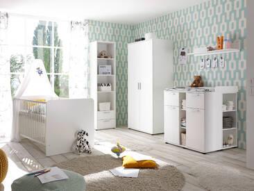 BAMBINO Komplett Babyzimmer 5-teilig weiß