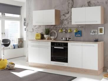 MIRA Küchenblock, Material Dekorspanplatte, Eiche sonomafarbig