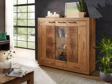 WINSTON II Highboard Wildeiche geölt