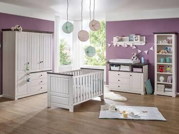 TINKA Babyzimmer Kiefer weiß / grau