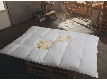 Zirben - Daunen Bettdecke Ganzjahresbett leicht 155x220 Hermetic® Zirbe