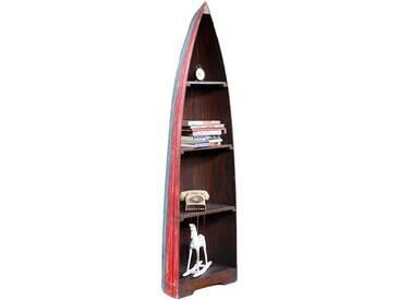 BHP BEST HOME PRODUCTS Vintage Regal Boat mit 4 Böden Höhe 200cm B991454L