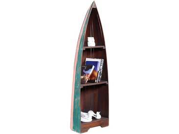 BHP BEST HOME PRODUCTS Vintage Regal Boat mit 3 Böden Höhe 150cm B991454M