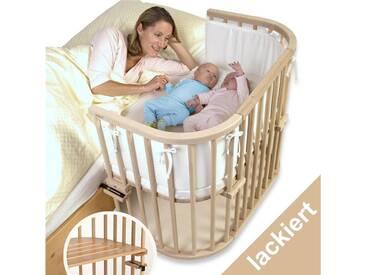 BABYBAY TOBI Babybay Maxi Beistellbett Buche auch für Zwillinge geeignet 160101