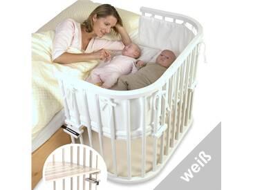 BABYBAY TOBI Babybay Maxi Beistellbett Buche auch für Zwillinge geeignet 160102